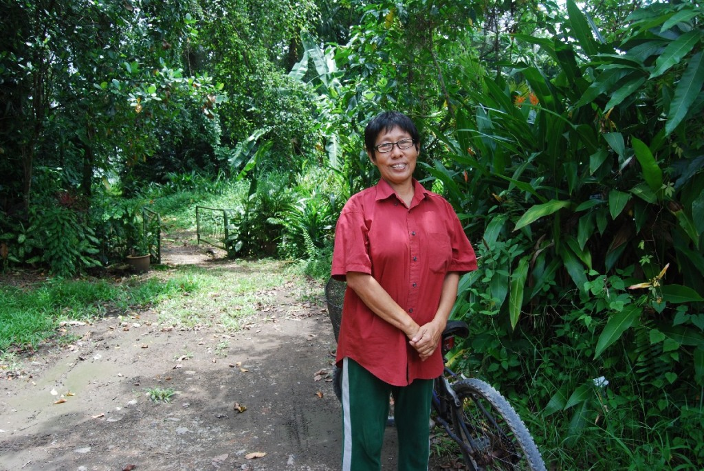 Madam Sng Mui Hong manages the properties taking care of rent