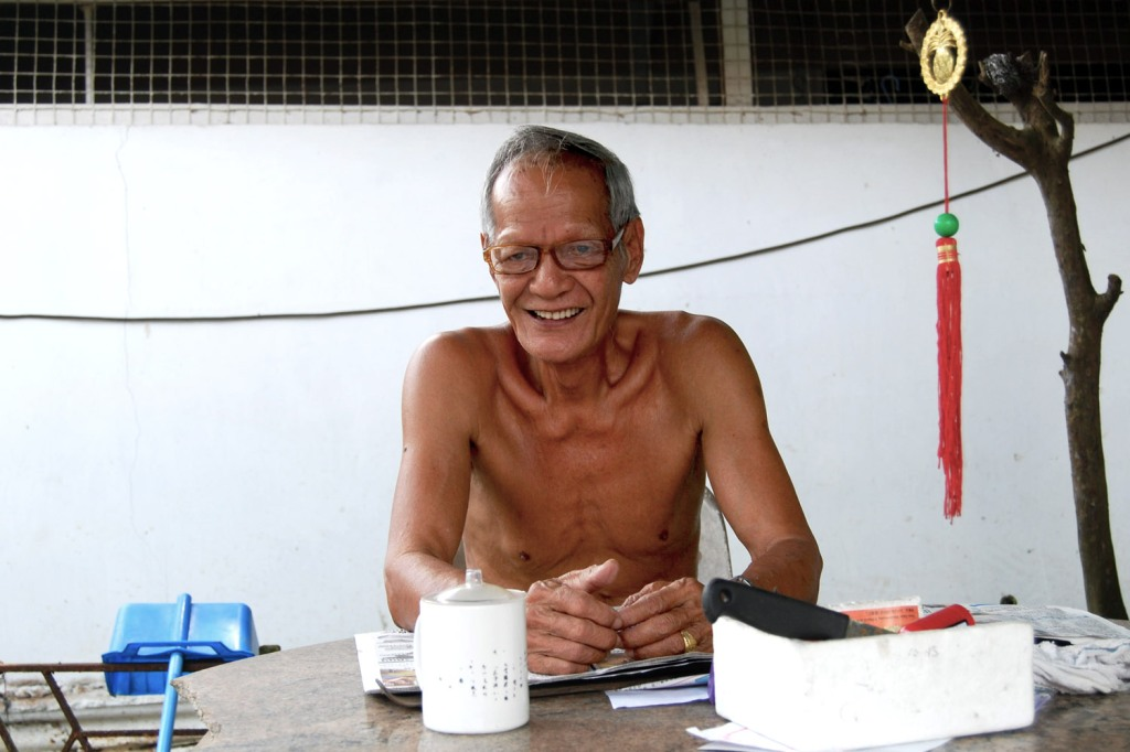 Mr Ter has lived at the kampong for 40 years.