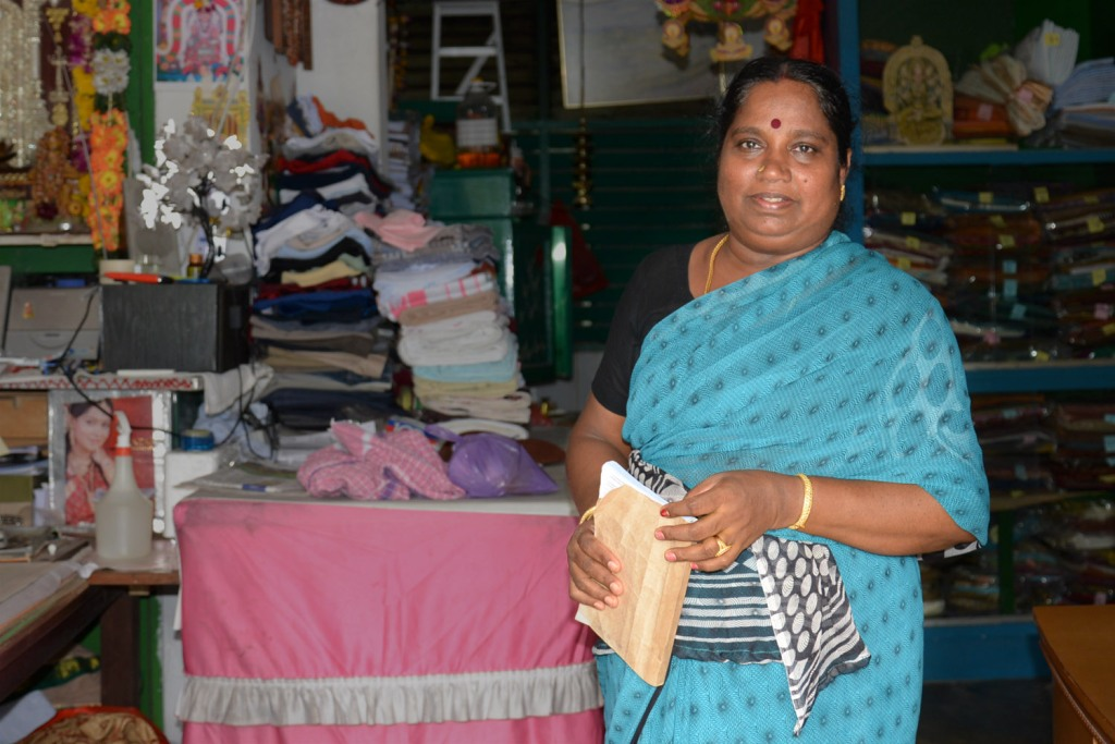 Devi married into the laundry business 27 years ago and is now a Singaporean